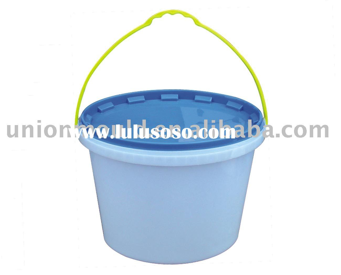 plastic painting bucket mould-paint bucket mold-huangyan mold-china mould-construction mold-plastic