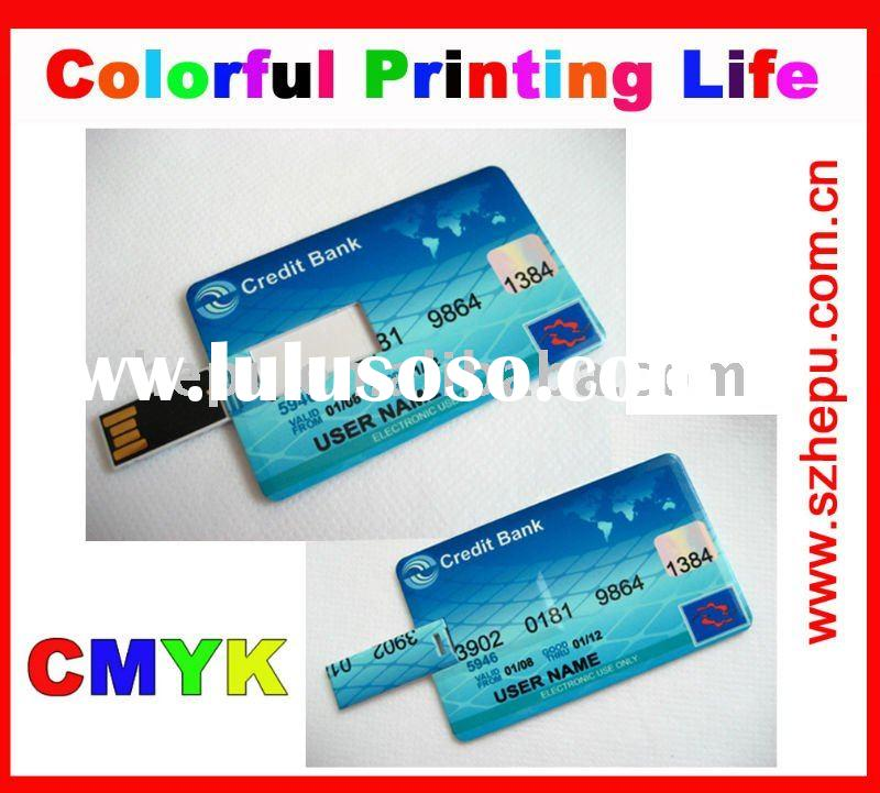 professional oem slim credit card usb
