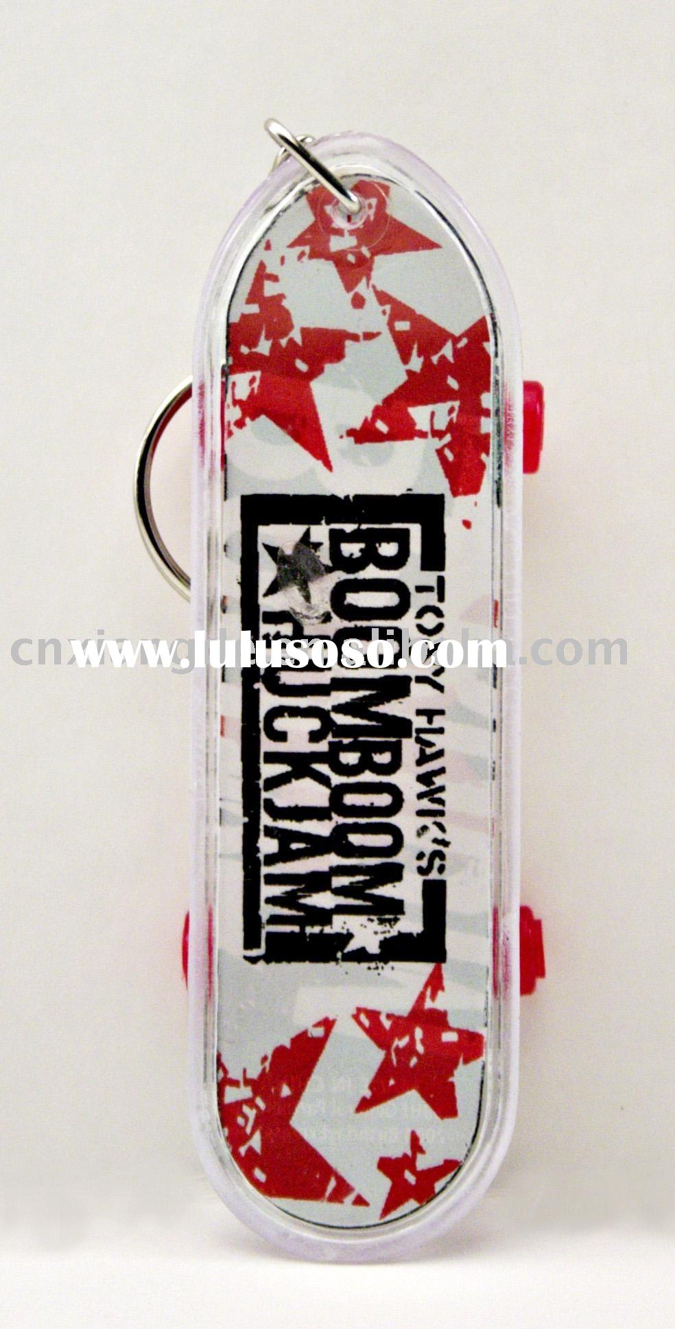 skateboard keyring/key chain/key holder/key rings