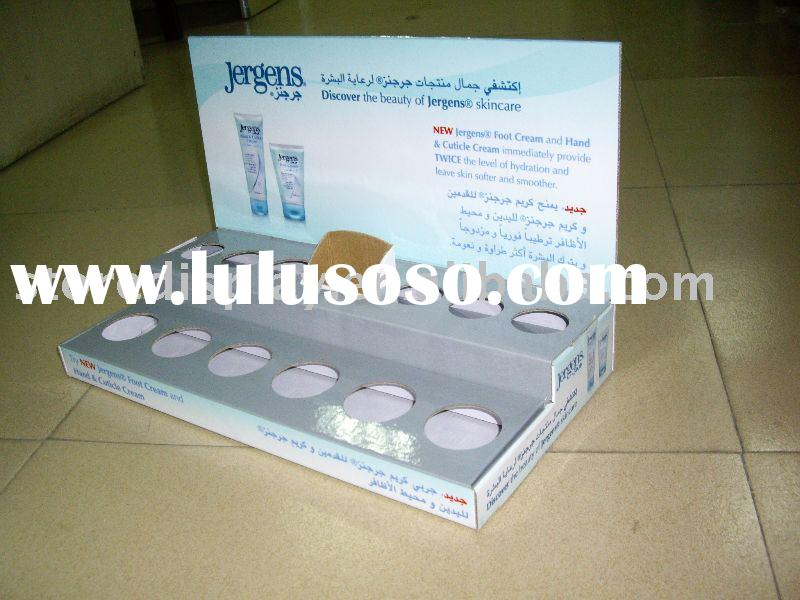 skin care product display unit