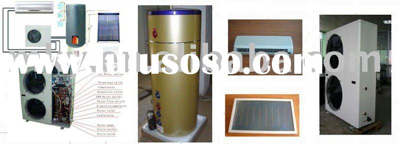 solar air conditioner and solar water heater