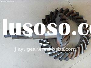sprial bevel gear and shaft for crane parts
