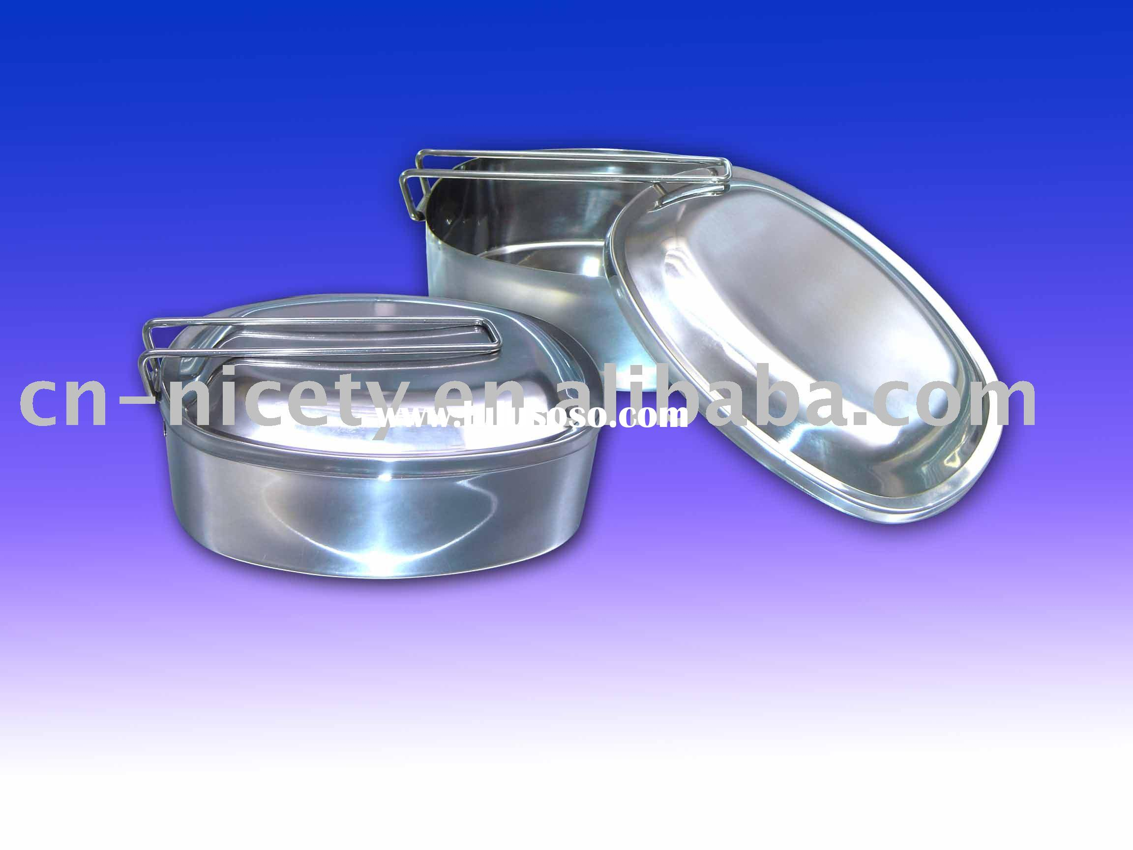 stainless steel lunch box(food box,food container)