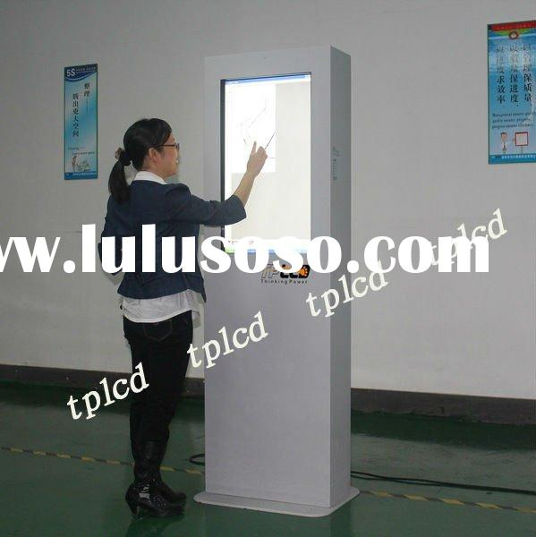 touch screen lcd advertising display kiosk