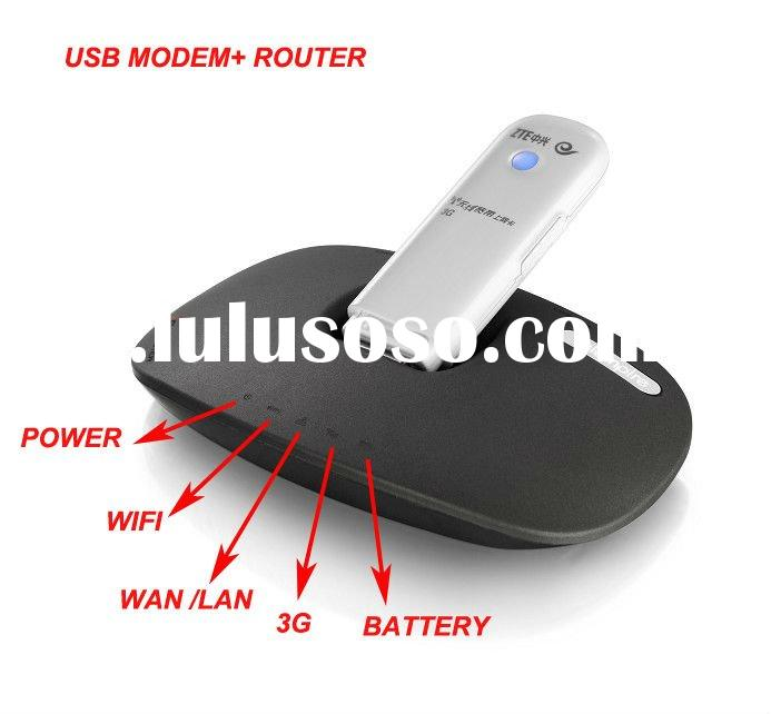 unlocked usb wireless router for WCDMA AND EVDO