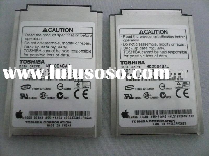 used 20GB 7200rpm ATA/IDE laptop HDD