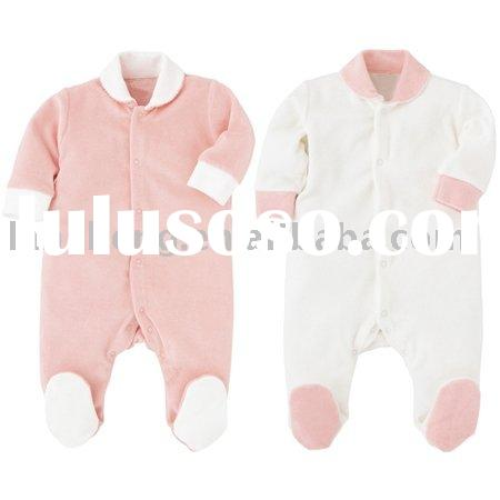 warm 100%cotton baby winter romper,baby clothes