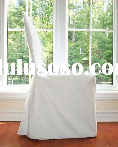 wedding chair cover, polyester chair cover, banquet chair cover