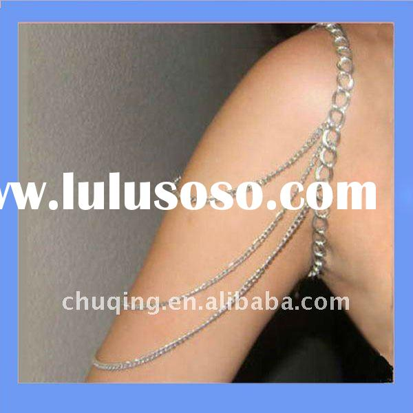 Diamond body shoulder chain necklace factory direct 2011 for Body jewelry cheap prices