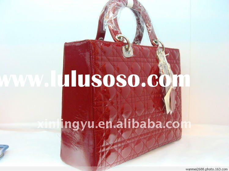 wholesale fashion brand name popular lady bag in low price