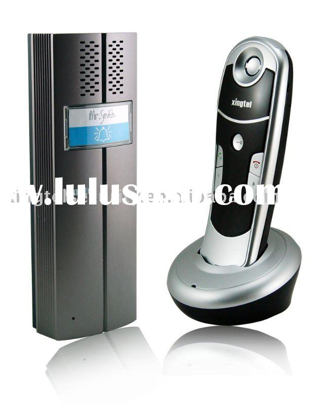 wireless door bell with hearing aid and big button
