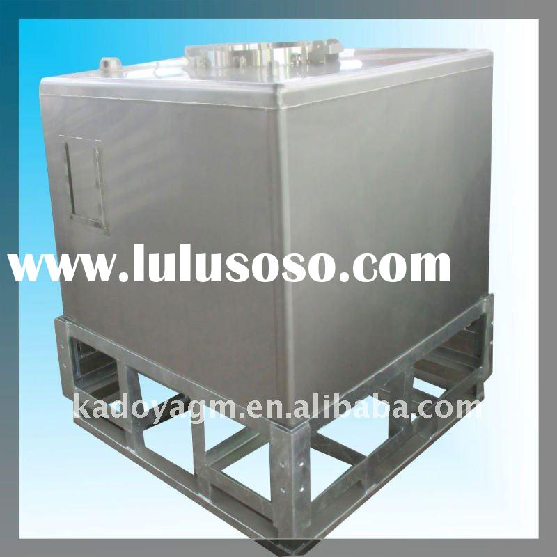 1000L stainless steel chemical storage tank