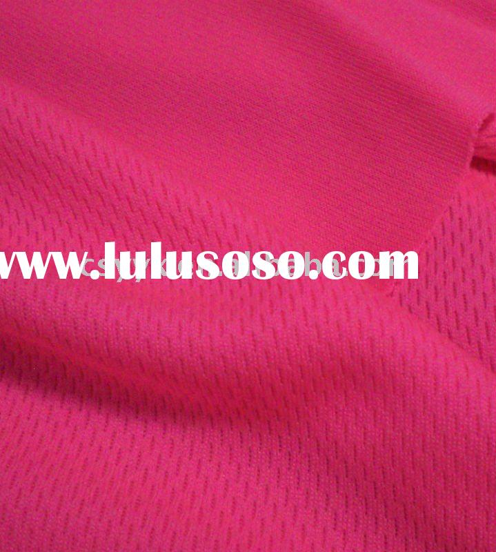 100% Polyester knitted mesh fluorescent cloth Fabric