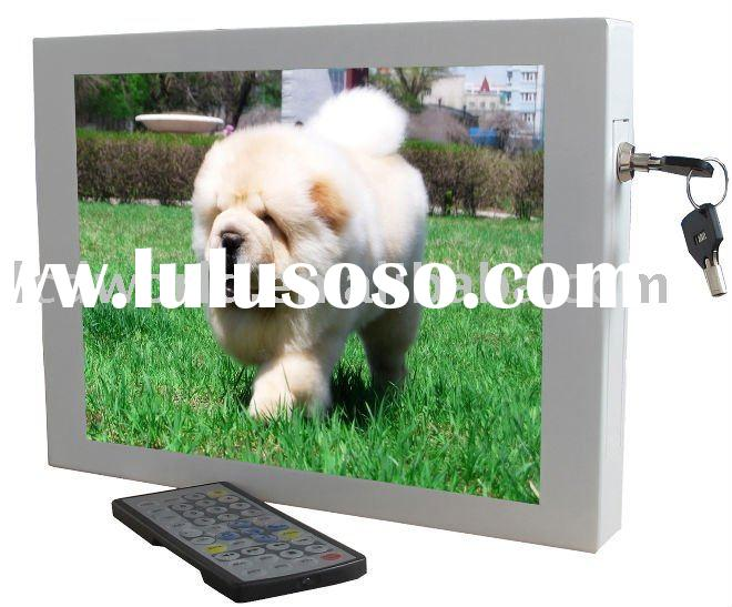 12 inch Touch Screen Wall Mount LCD Monitor TFT (VP120W)