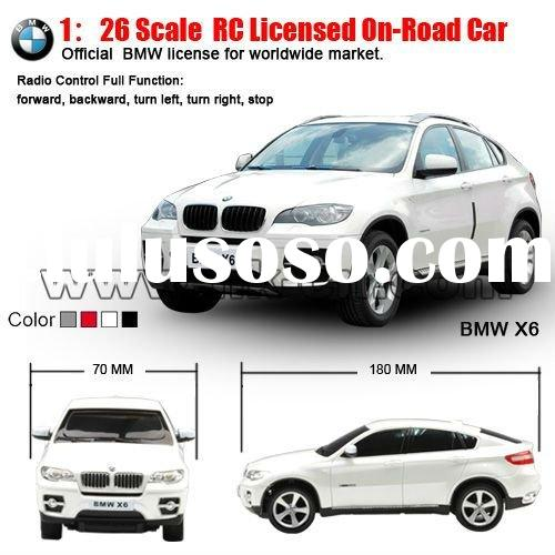 1:26 Scale BMW toy car model RC Licensed On-road Car toy (small tyre, with battery)