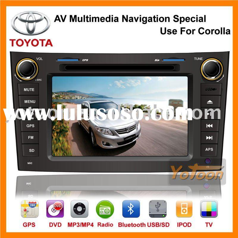 2011 Factory Newest 7'' GPS Navigation System Car DVD player Special Use for TOYOTA