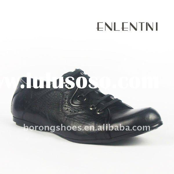 2011 Latest Fashion Men's Leather Casual Shoes