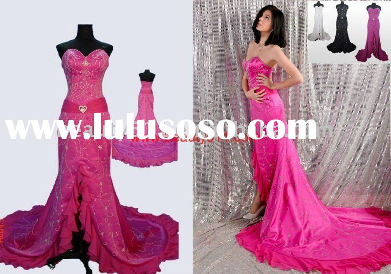 2011 factory top sell new prom party wedding ball gown wholesale evening dress P7009