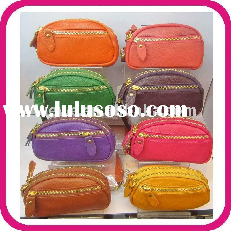 2011 latest high-quality fashion leather Coin Purses