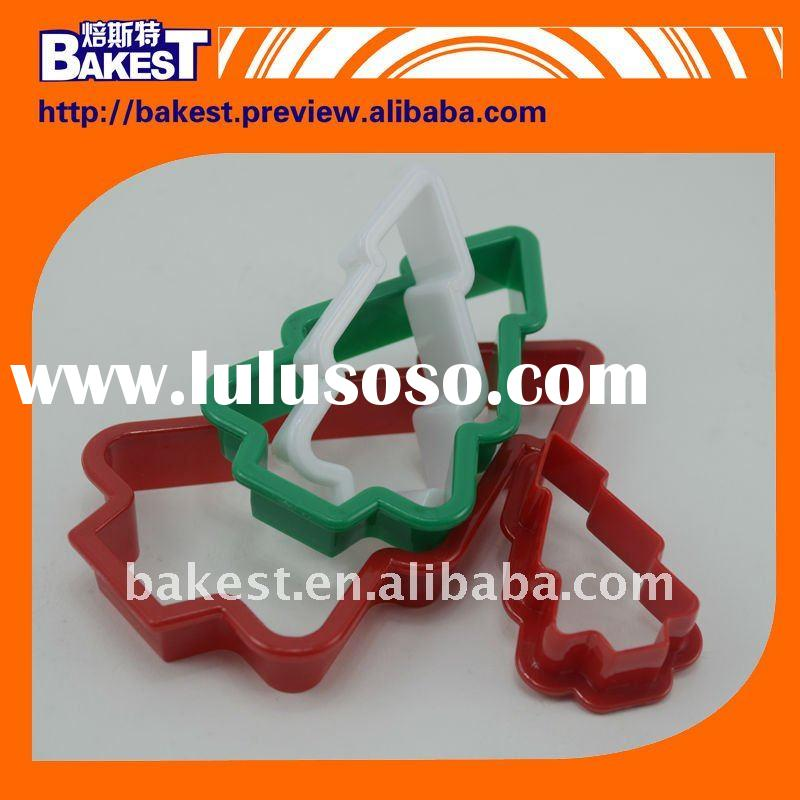 2011 newly style christmas festival christmas tree shaped biscut cutter-K537
