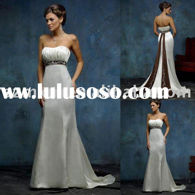 2012 CT697 Free shipping best selling sweetheart Wedding Dresses any size/color wholesale/retail