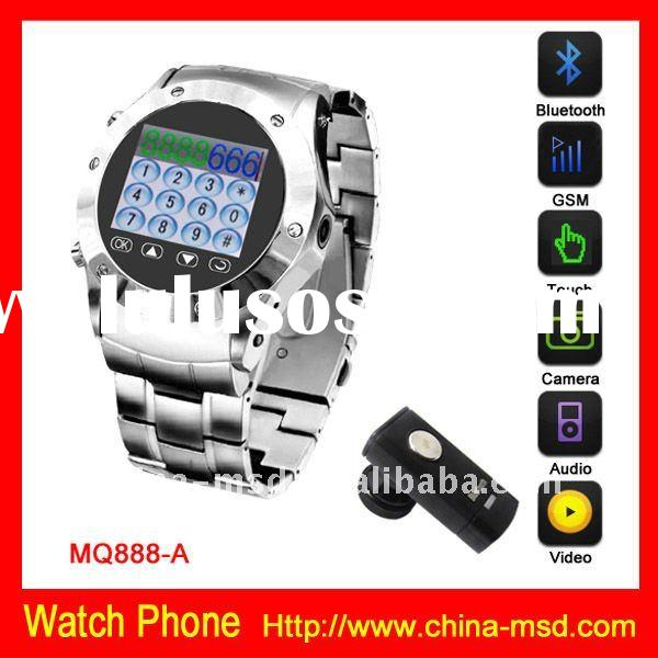 2012 Hot selling GSM New Touch Screen phone watch MQ888