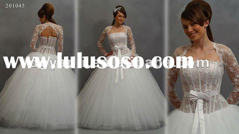 2012 New Arrival Gorgeous Off-Shoulder Ball Gown wholesale wedding dresses 00782
