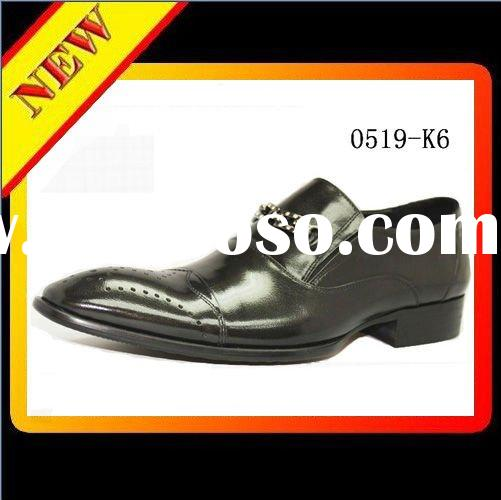 2012 New Style men's fashion leather casual shoes