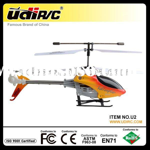 2012 Udirc Mid-Thunder Tiger Remote Control Helicopter Toy U2