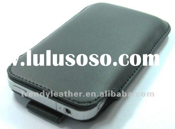 2012 newest fashion Iphone 4s leather case