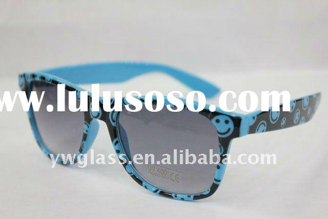 2012 sunglasses,neon colors sunglasses,retro frame