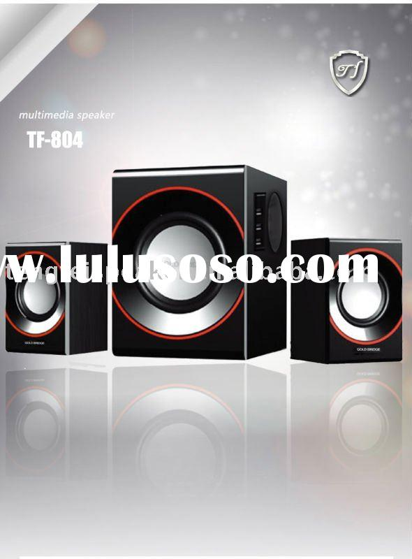 2.1 pc speaker,2.1 audio system,subwoofer speaker system with piano finish/TF-804