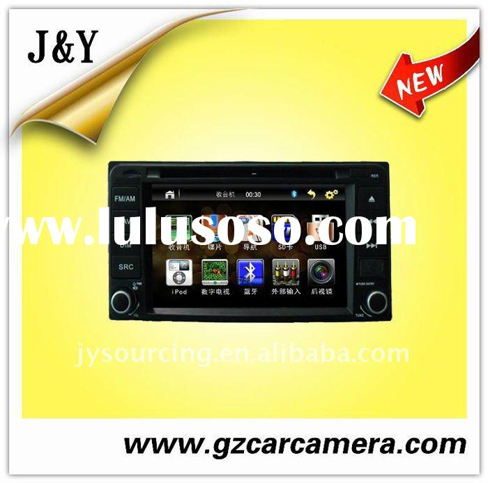 "2 Din 7""Inch car DVD digital Touch Screen with high resolution Electronic Shock-Resistant for T"