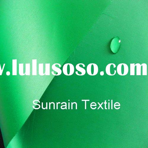 300D Polyester oxford clear pu waterproof tent fabric (ISO9001:2000)