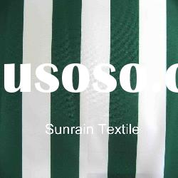 300D stripe print polyester oxford pu waterproof for outdoor fabric ISO 9001