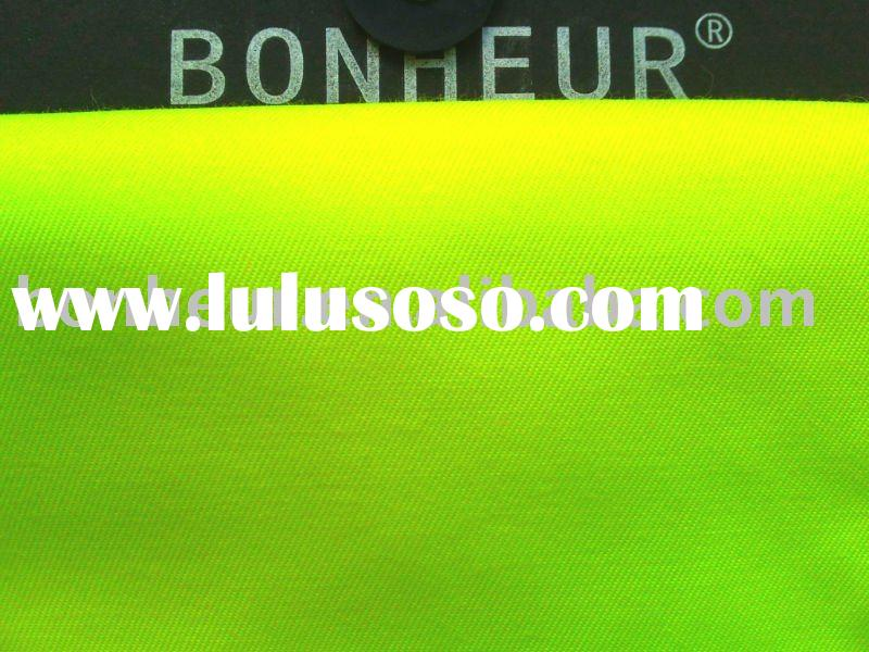 3/1 twill poly/cotton reflective fabric for protective workwear