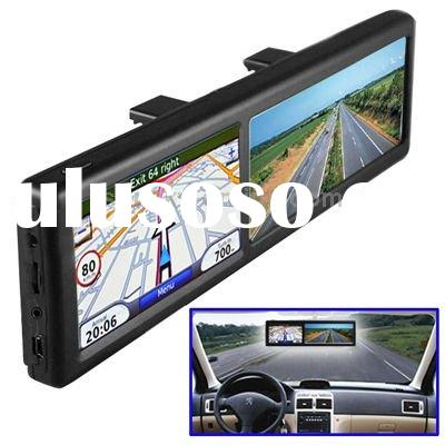 4.3 inch TFT Touch Screen Car GPS Navigator with Rearview Mirror