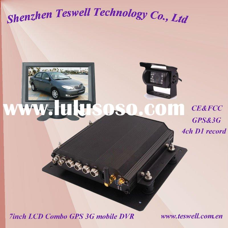 4 Channel Mobile Dvr (Car camera recorder) New Hot