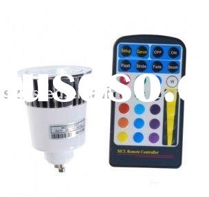 5W Remote Control Color Changing LED light --remote control spotlight