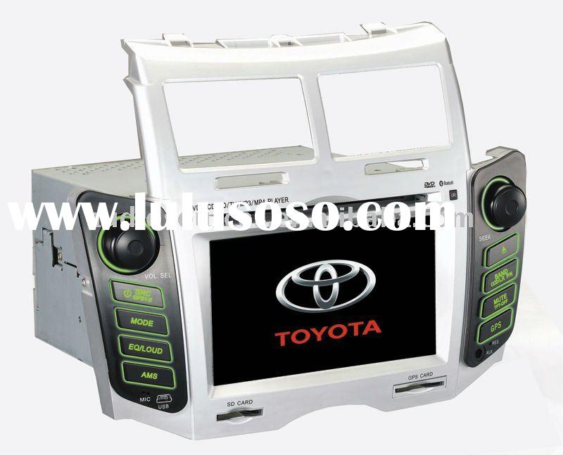 "6.5"" LCD touch screen car dvd gps for TOYOTA Yaris with DVB-T,BT,RADIO,RDS,TMC"