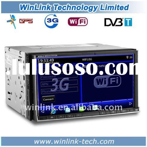 """7"""" 2 Din Touch Screen Universal Car PC with Gps Support 1080P MP5 3G WIFI"""