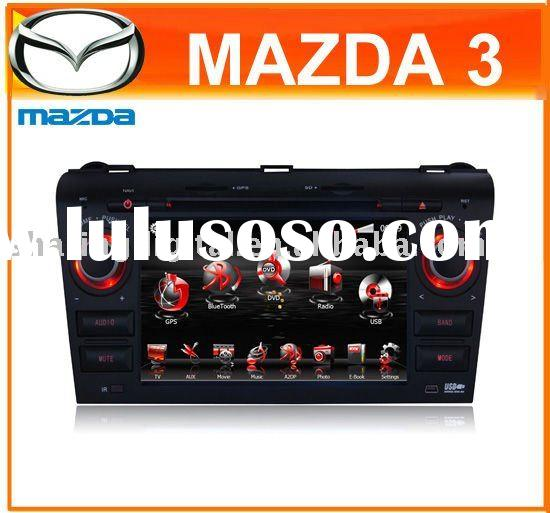 """7"""" Touch Screen HD Car DVD Player GPS USB Canbus Radio TV Bluetooth I-Pod SD for Mazda 3"""
