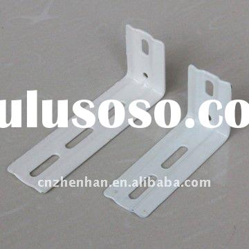 89mm&100mm metal curtain rod wall bracket for vertical blind- vertical blinds component-vertical