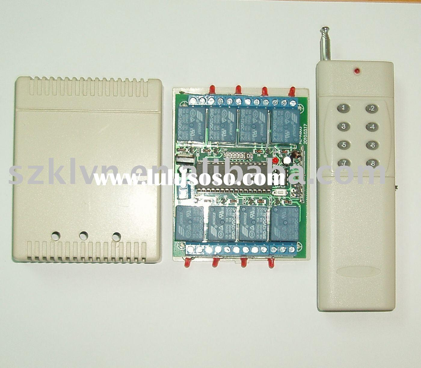 8-Channel wireless remote control switch and hign power transmitter