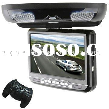 9 inch roof mount car dvd player with game
