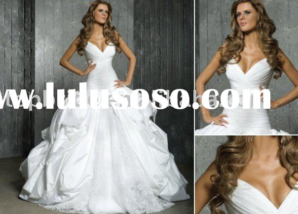 AS607 2011 New Hot Elegant Vintage Lace Wedding Gowns