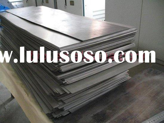 ASTM B265 cold rolled titanium sheets/plates