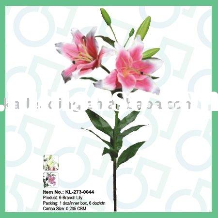 Artificial Flower,Silk Lily,Home Decoration