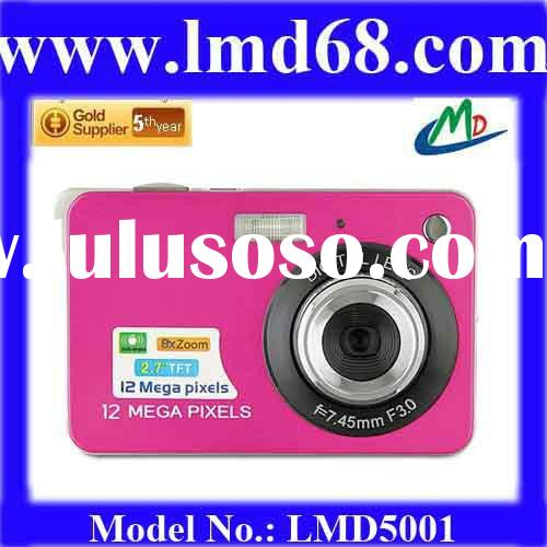 Attractive and most popular 12 MP high definition 2.7 inch LCD Screen hotselling hd digital camera L