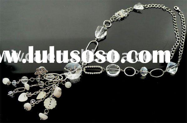 BEST selling 2011 newest fashion long necklaces in Europe